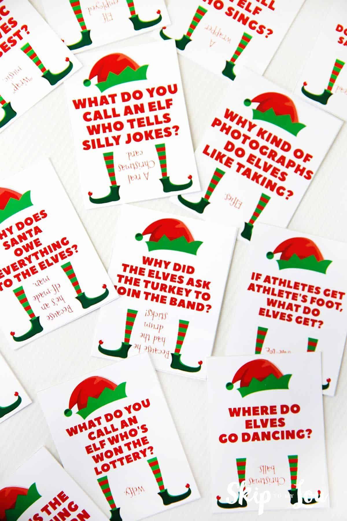 Printable Elf On The Shelf Jokes