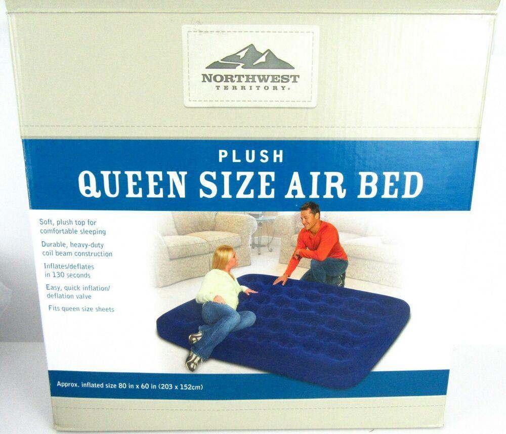 Queen Size Air Bed Northwest Territory Mattress Bed Indoor Outdoor