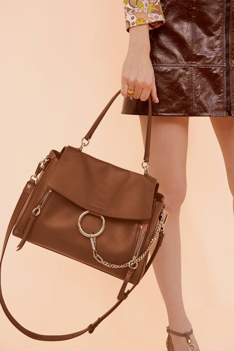 medium Faye day bag - Brown Chlo yxjJwwm