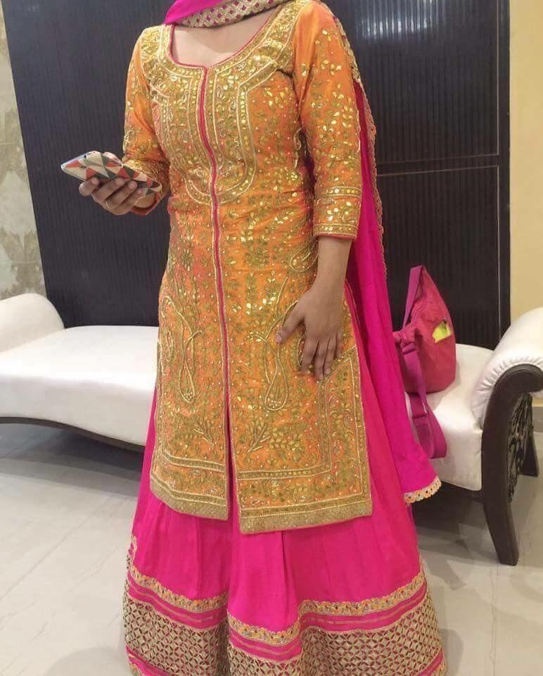 Traditional Lehenga Punjabi Wedding Designer Dresses Indian