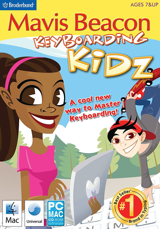 Amazon Mavis Beacon Keyboarding Kidz Broderbund