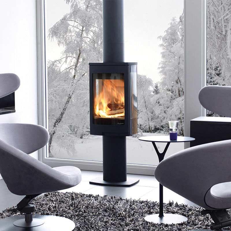 po le bois nordpeis duo 1 sur pied 5 kw po le. Black Bedroom Furniture Sets. Home Design Ideas
