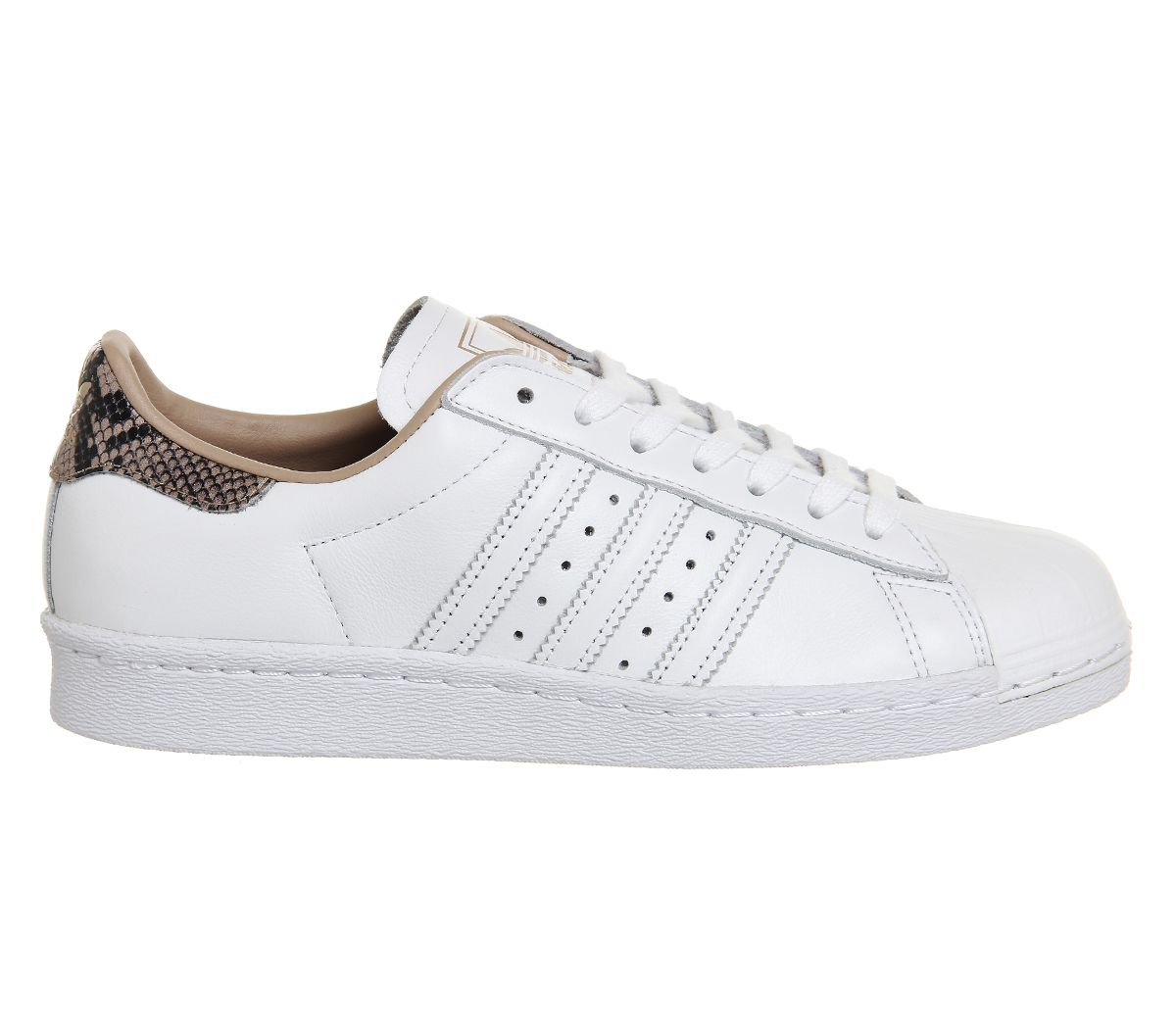 Buy White Rose Snake Exclusive Adidas Superstar 80s from OFFICE.co.uk.