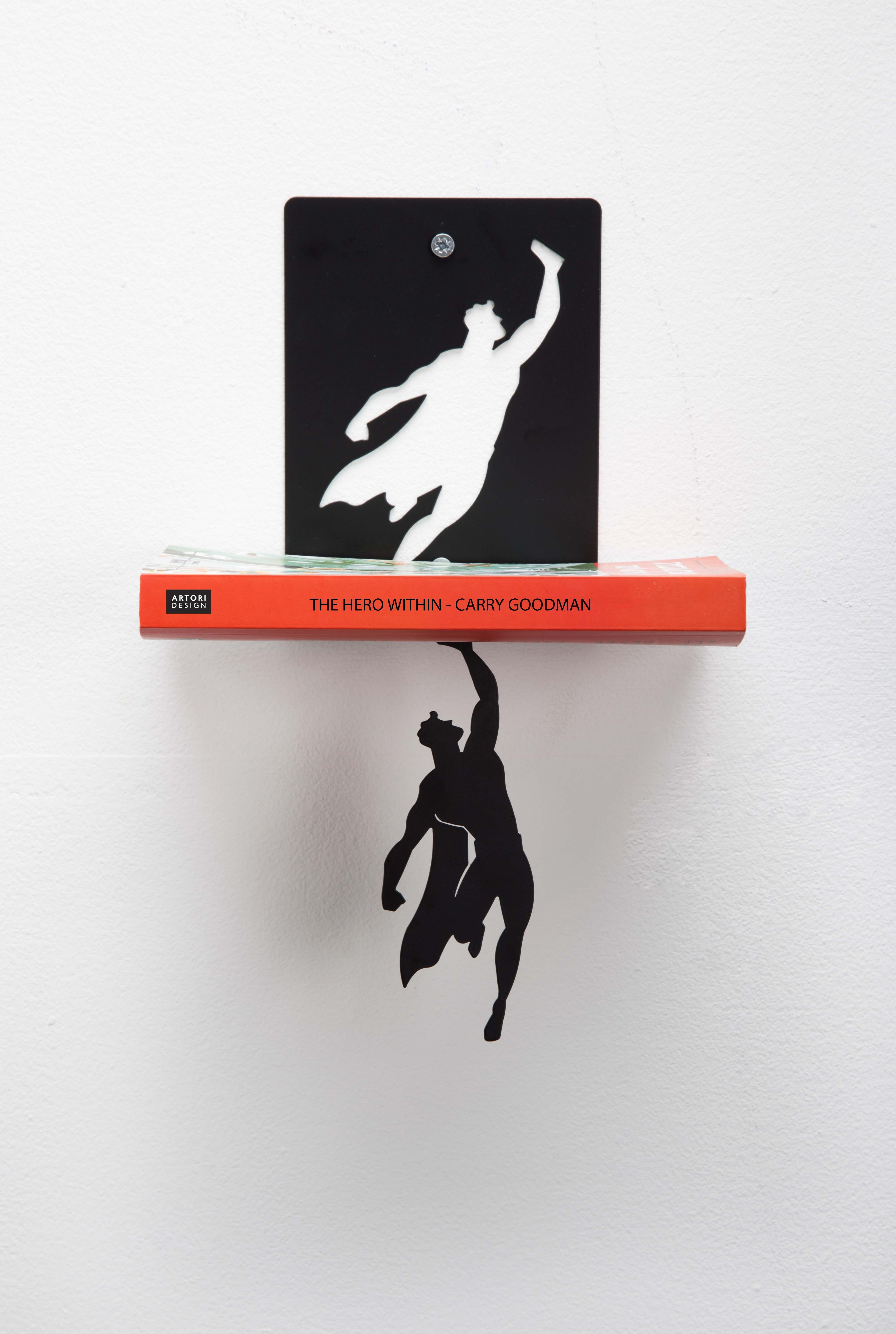 Superman Will Rescue Your Books From Falling By Artori -