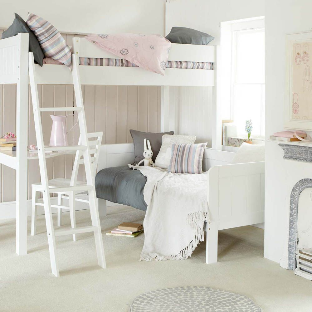 Little Folks Furniture - Fargo High Sleeper with Pull Out ...
