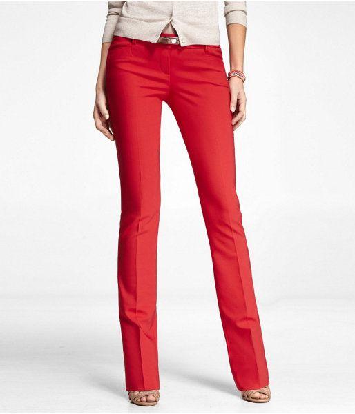 Women Red Pants