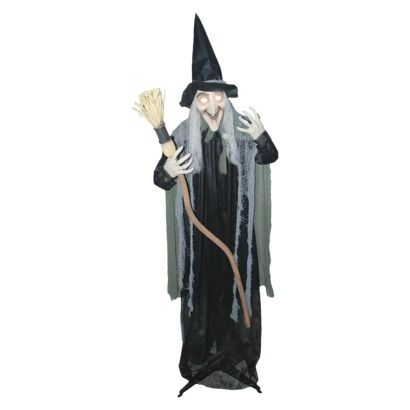 Scary Animated Standing Witch Halloween Party Pinterest Scary
