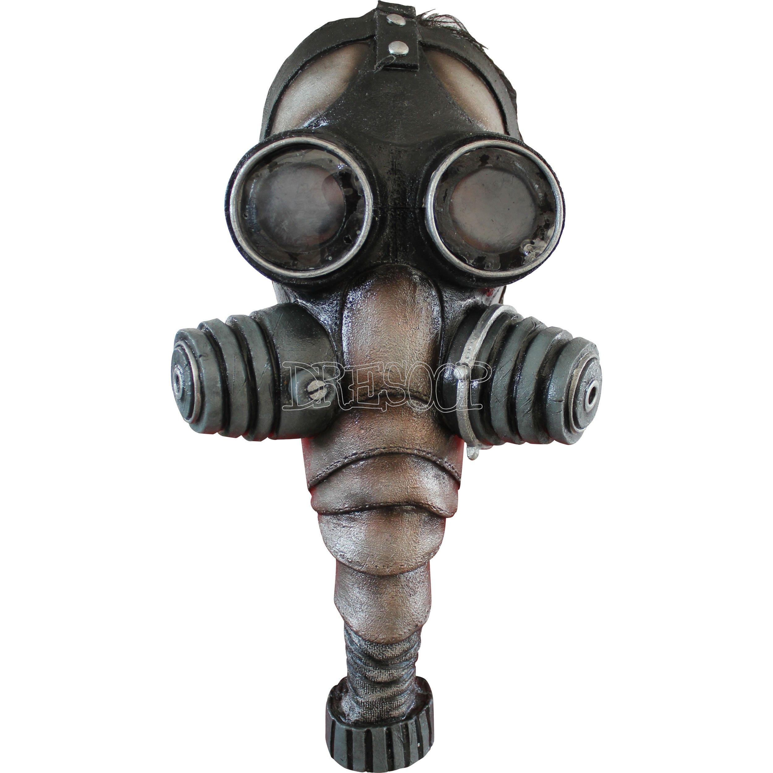Máscara de gas Ghoulish - Dresoop.es | Máscaras Halloween 2015 ...