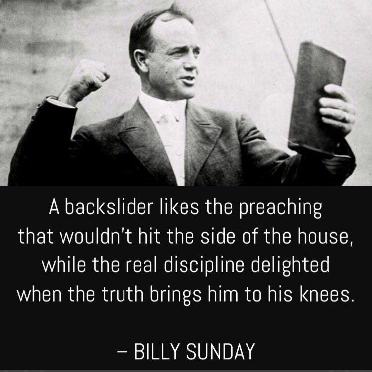 4-28-19 Words of Wisdom Bulletin | Billy sunday, Sunday ...