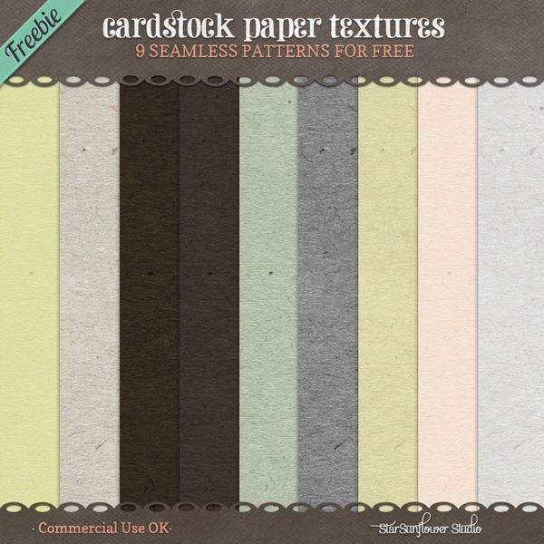 Cardstock Paper Textures - Printable Free things on my blog - printable cardstock