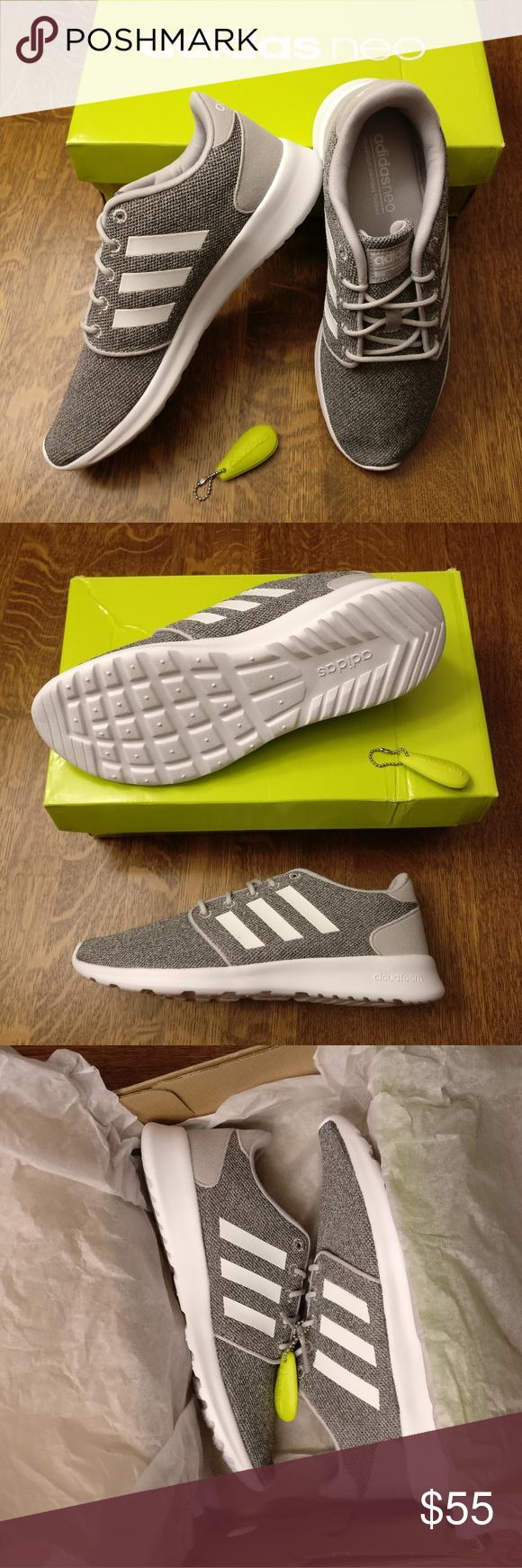 Adidas Neo Cloudfoam Racer Athleisure Tendenza Delle Scarpe Da Ginnastica, Tessuto