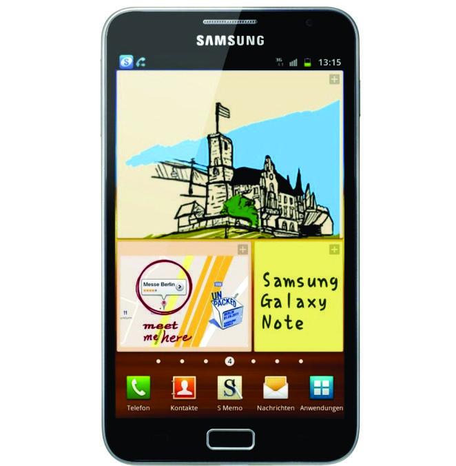 Smartphone Desbloqueado Samsung Galaxy Note N7000 Android 2.3 3G Wi-Fi GPS Processador 1.4GHz Tela de 5.3 Câmera 8MP Memória Interna 16GB    R$ 1.475,10 Pagando no Boleto
