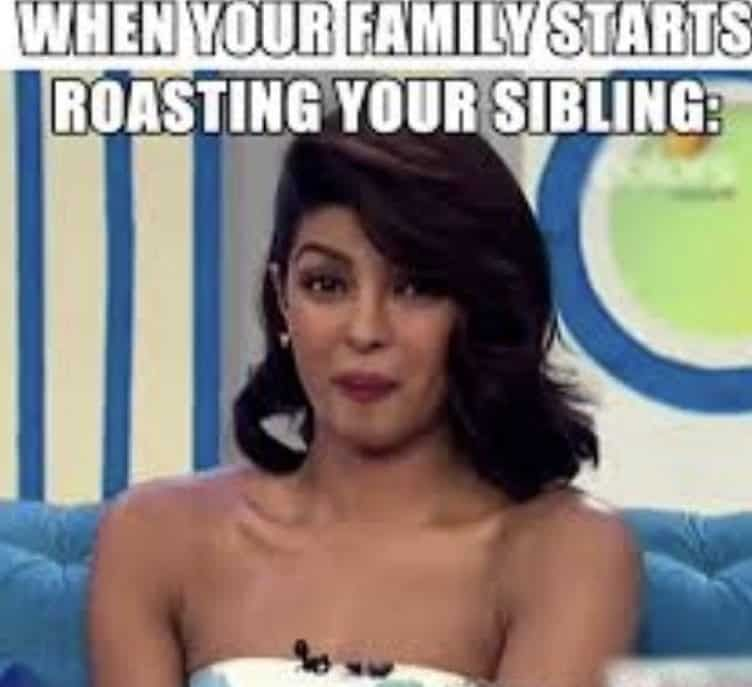 Funny Sibling Memes about Sister and Brothers - Happy National Siblings Day