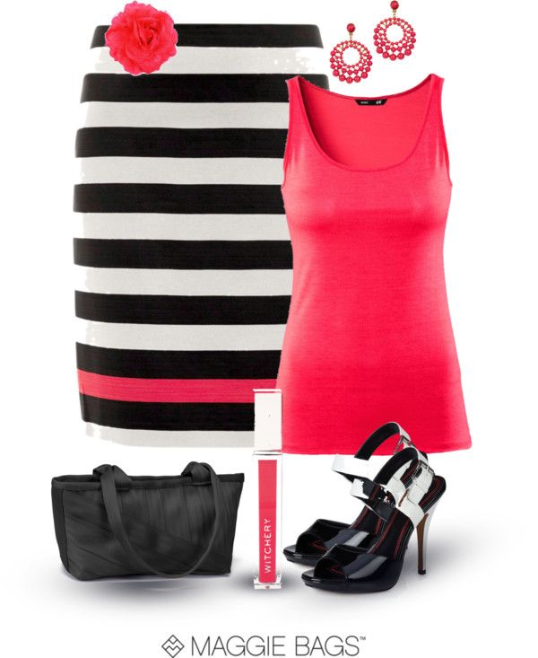 """Poppin' Poppy"" by maggiebags on Polyvore"