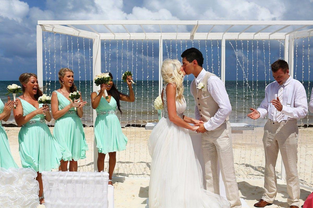 Cancun Destination Wedding Moon Palace Tina And Ryan Del Sol Photography Dream Beach Wedding Destination Wedding Palace Resorts Wedding