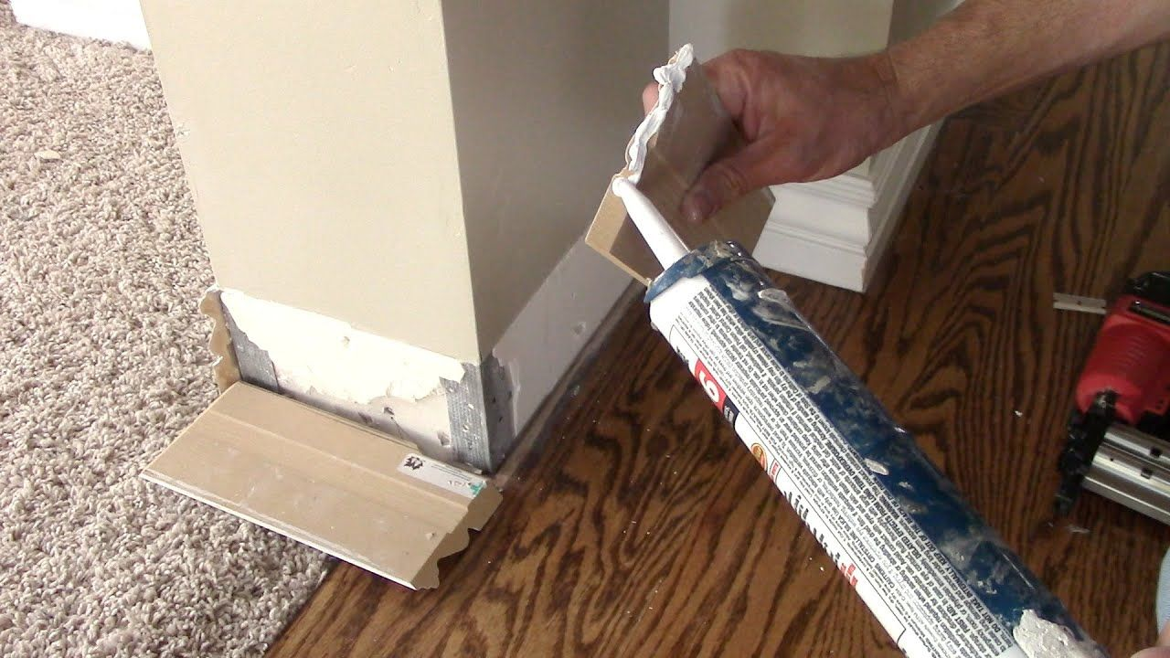 How To Remove And Replace Damaged Baseboards Youtube In 2020 Baseboards Diy Shiplap Home Repair