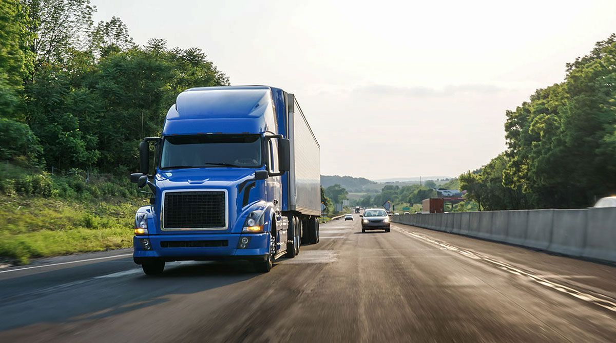 Truck on highway Transport topics, Trucks, Big trucks