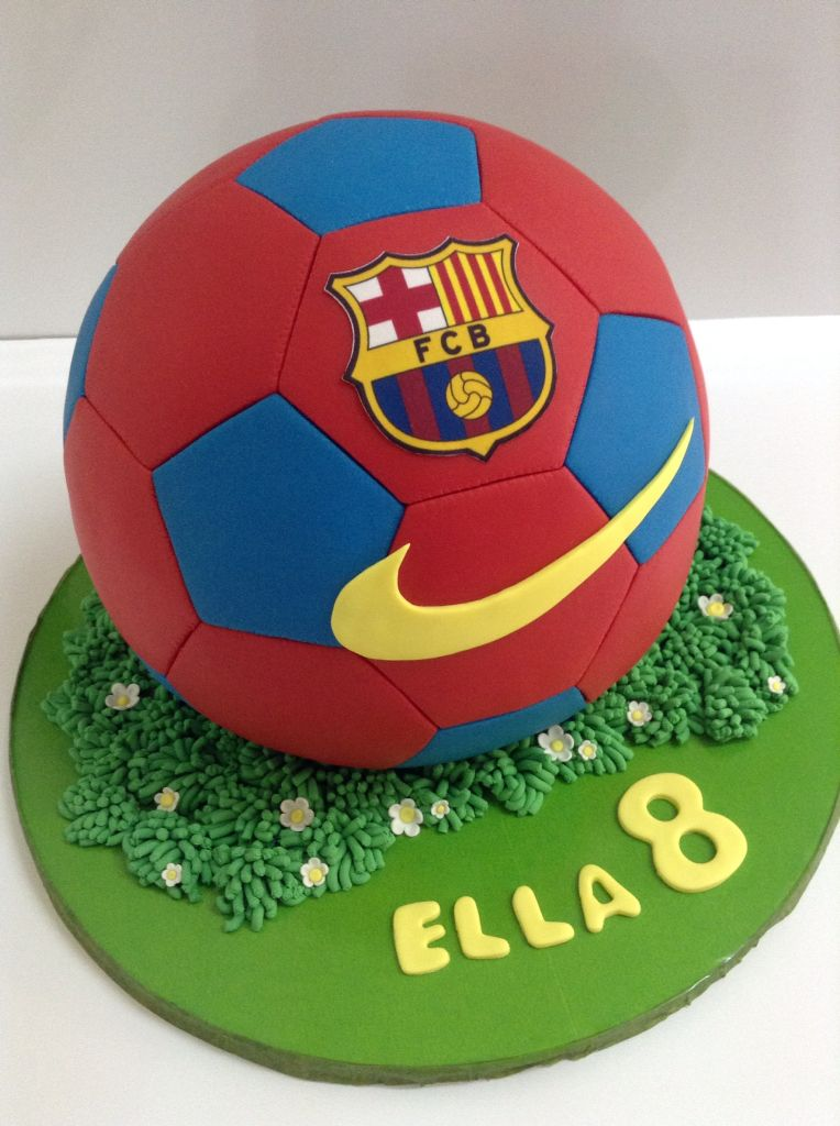 Soccer Ball Cake Soccer Ball Cake Soccer Birthday Cakes Football Birthday Cake