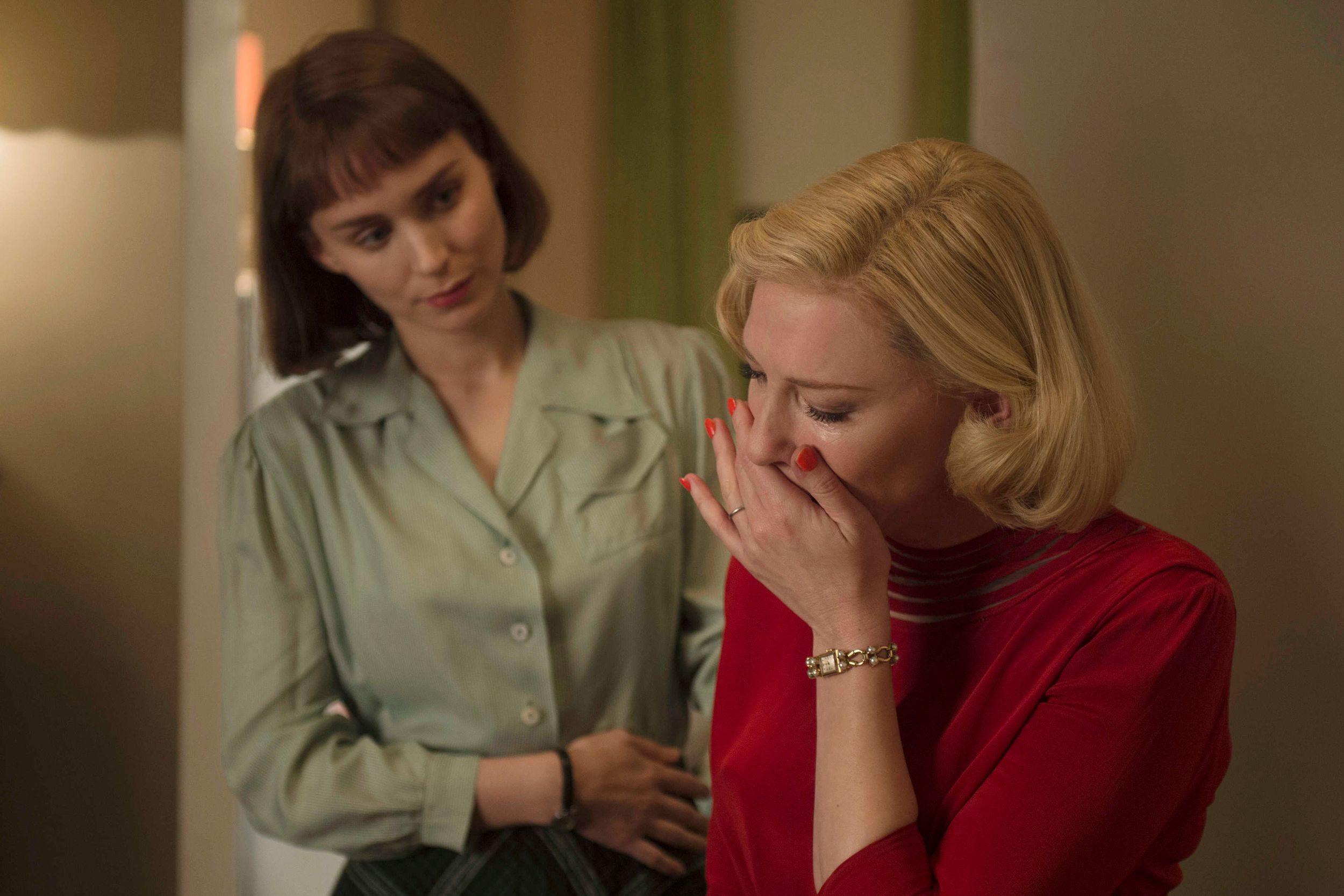 Cate Blanchett e Rooney Mara in una scena di Carol Best