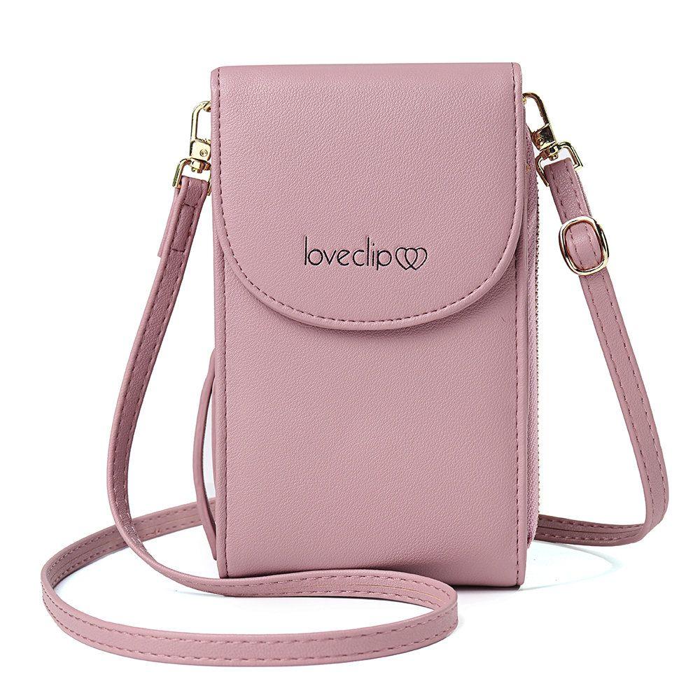 8df98083e4680a Stilvoll Damen Multifunktions-Ringtasche mit festem Ring und quadratischer  Tasche Geldbeutel Online - NewChic Mobile