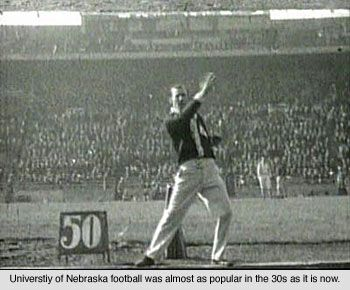 Reason - Going to football games was another great pass-time of the 1930s.  Having Fun in the Middle of the Great Depression. (n.d.). Retrieved February 05, 2017, from http://www.livinghistoryfarm.org/farminginthe30s/life_14.html