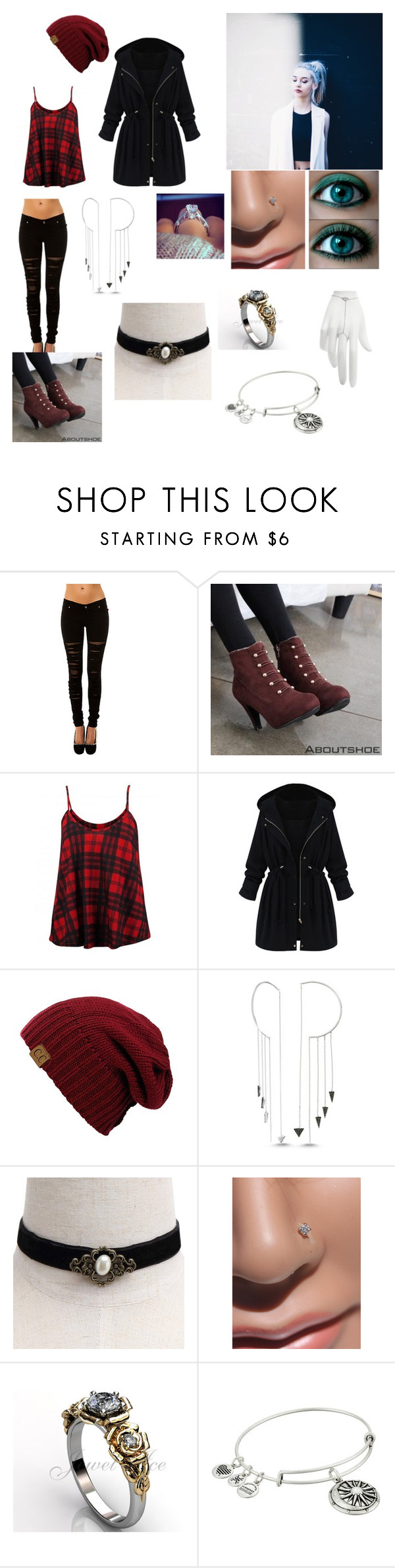 """Thalia Engels"" by ryanisobelle on Polyvore featuring moda, Verragio, Tripp, Aboutshoe, So in Fashion, Amorium, GV2 by Gevril, Alex and Ani y stella valle"