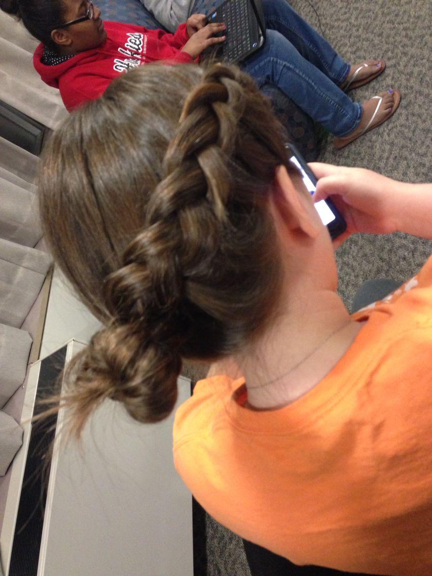 Abbie's hair!