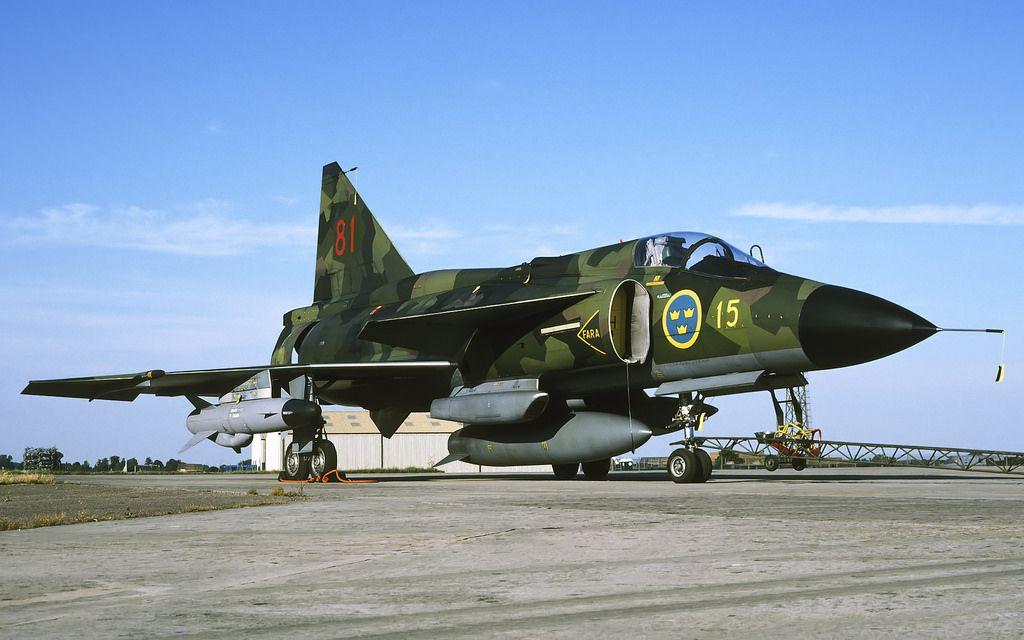 Image result for Saab 37 Viggen RAAF