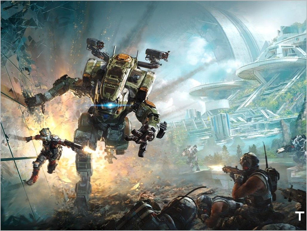 Wallpaper 4k Ps4 Games In 2020 Titanfall Hd Images Wallpaper