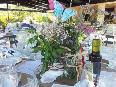 Colores y magia desde la mesa
