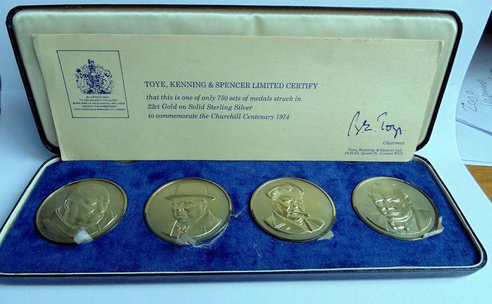 TOYE,KENNING & SPENCER Ltd Cased Sir Winston Churchill