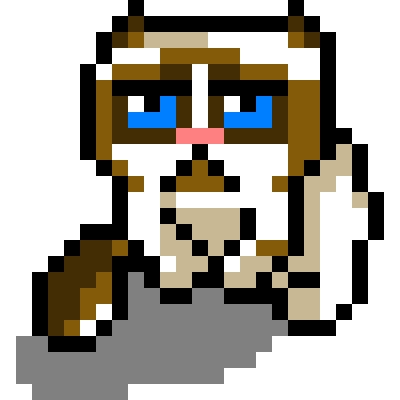 pixel art on pinterest pixel art 8 bit and cats in costumes