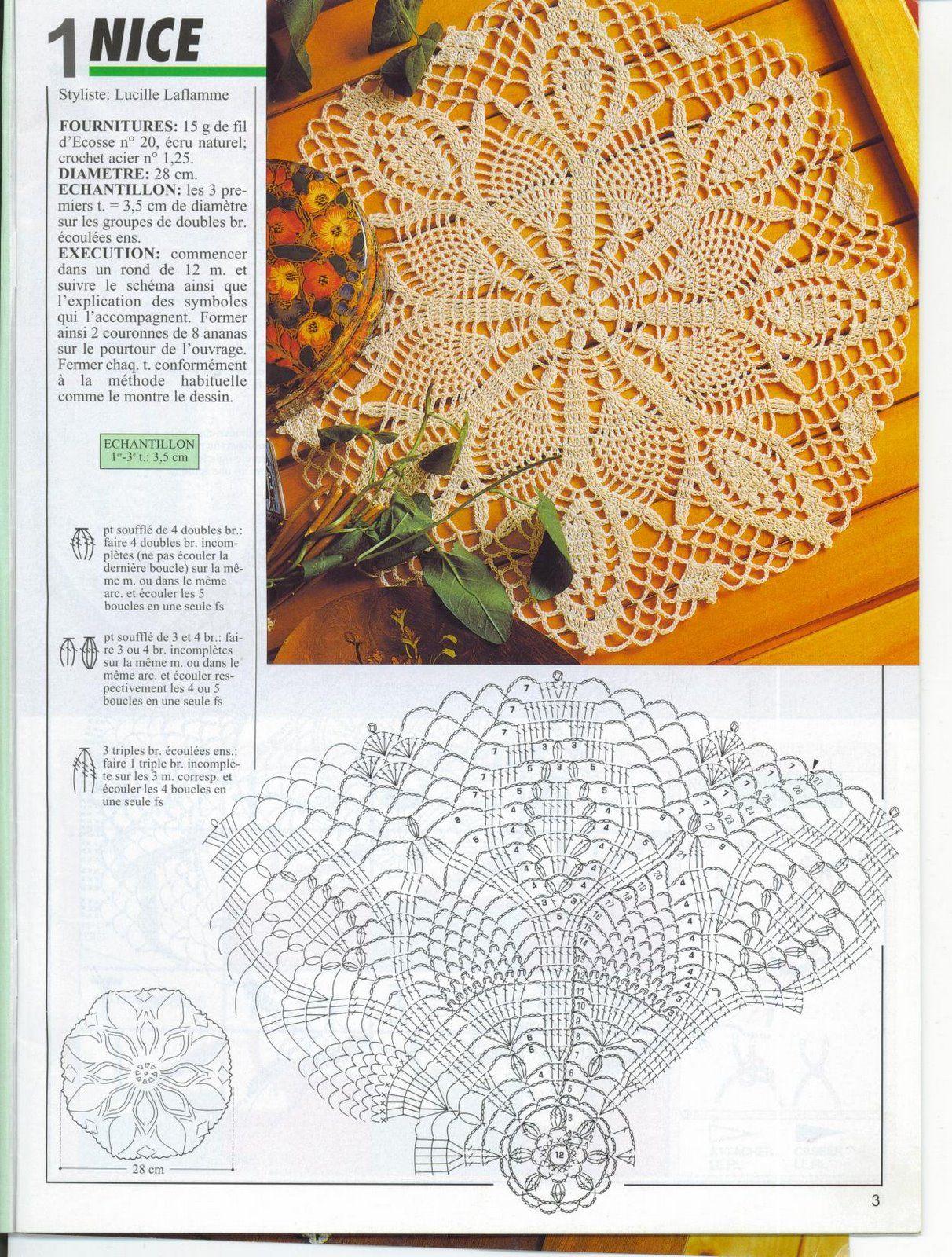 Kira crochet: Crocheted scheme no. 634