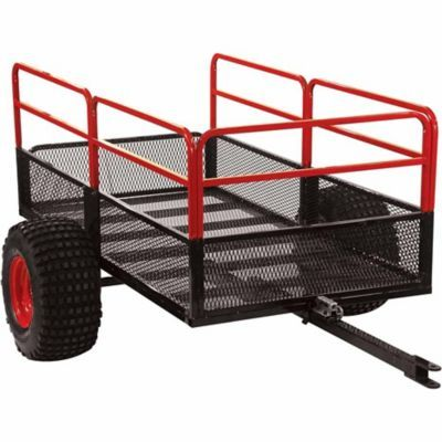 Yutrax x2 steel mesh 60 in x 31 in 1250 lbs capacity utility capacity utility trailer in the utility trailers category at tractor supply co ccuart Gallery