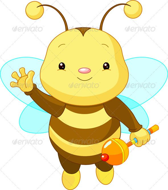 Cute baby Bee | Bumble bee cartoon, Brown bugs and Bee icon