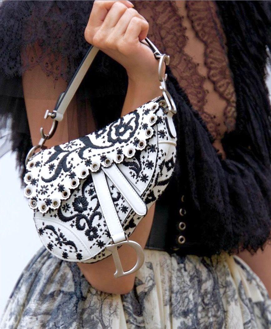 9bfc854635 Dior Saddle Bag Resort 2019 | Handbags in 2019 | Dior saddle bag ...
