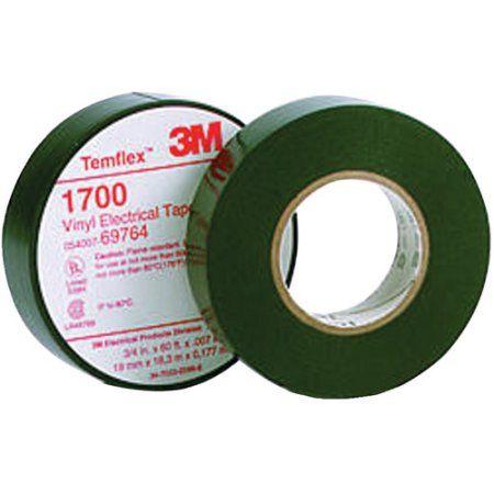 3m Temflex 1700 Vinyl Electrical Tape 3 4 X 60ft Mmm69764 Walmart Com Electrical Tape Tape Vinyl
