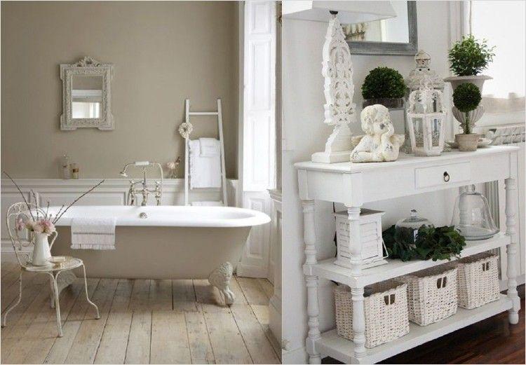 36 Beautiful Shabby Chic Bathroom Accessories Ideas #bathroom