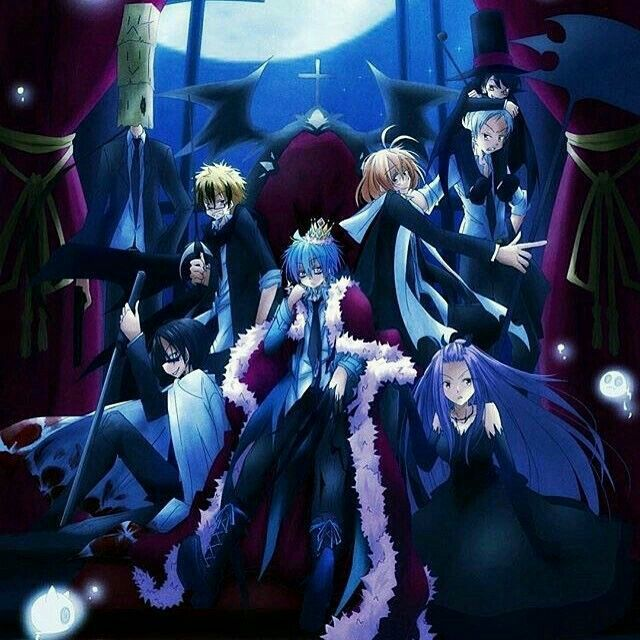 3638 Anime Servamp Wall Poster Scroll cosplay