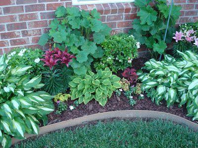 Jardines Frontales Con Flores Jardín De Sombra Paisajismo