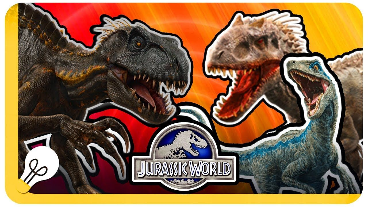 INDORAPTOR VS INDOMINUS REX and BLUE (With images
