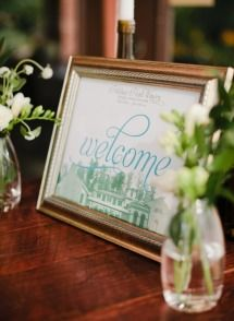 welcome sign – Search Results – Style Me Pretty