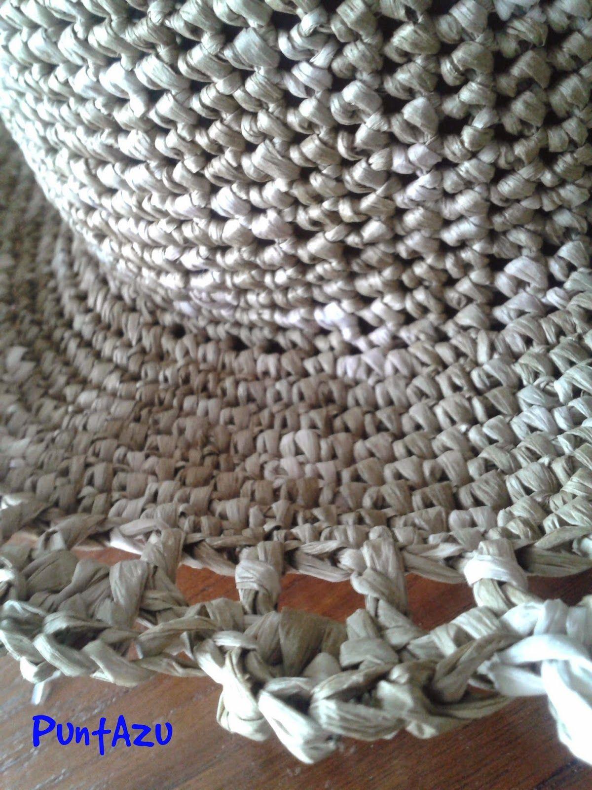 PuntAzu: Sombrero con MAYUSCULAS | Ganxet | Pinterest | Crochet ...