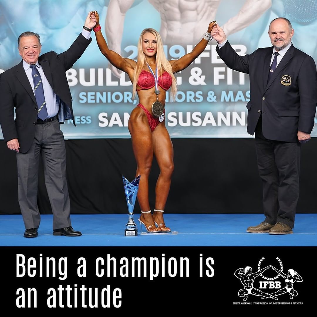 At IFBB we know that our champions🏆get everything they set out thanks to their attitude. 💪  #ifbb #b...
