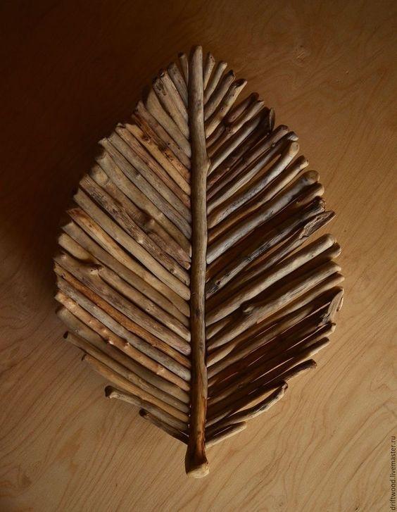 Cómo utilizar palos de madera para crear 7 increíbles obras