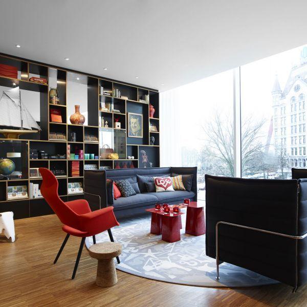 Kast - citizenM Rotterdam boetiek hotel leefruimte LS69 - design hotel citizenm london