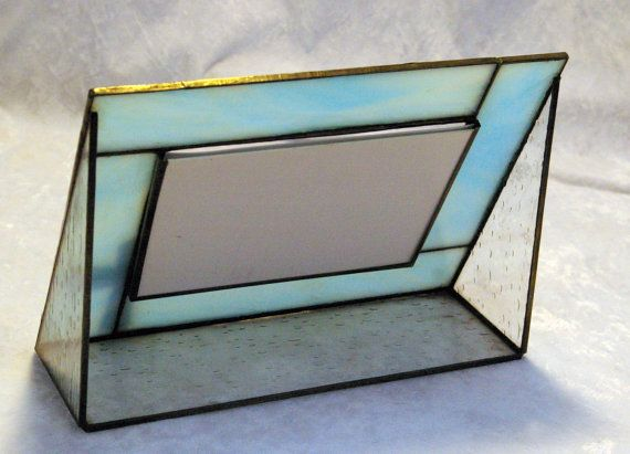 4 x 6 Inch Stained Glass Picture Frame by CrystalwoodCreations ...