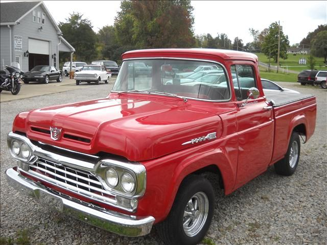 1960 Ford F100 Used Cars For Sale Carsforsale Com Vintage