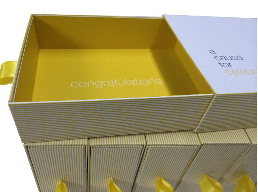 Matchbox Style Rigid Corporate Presentation Gift Boxes Custom