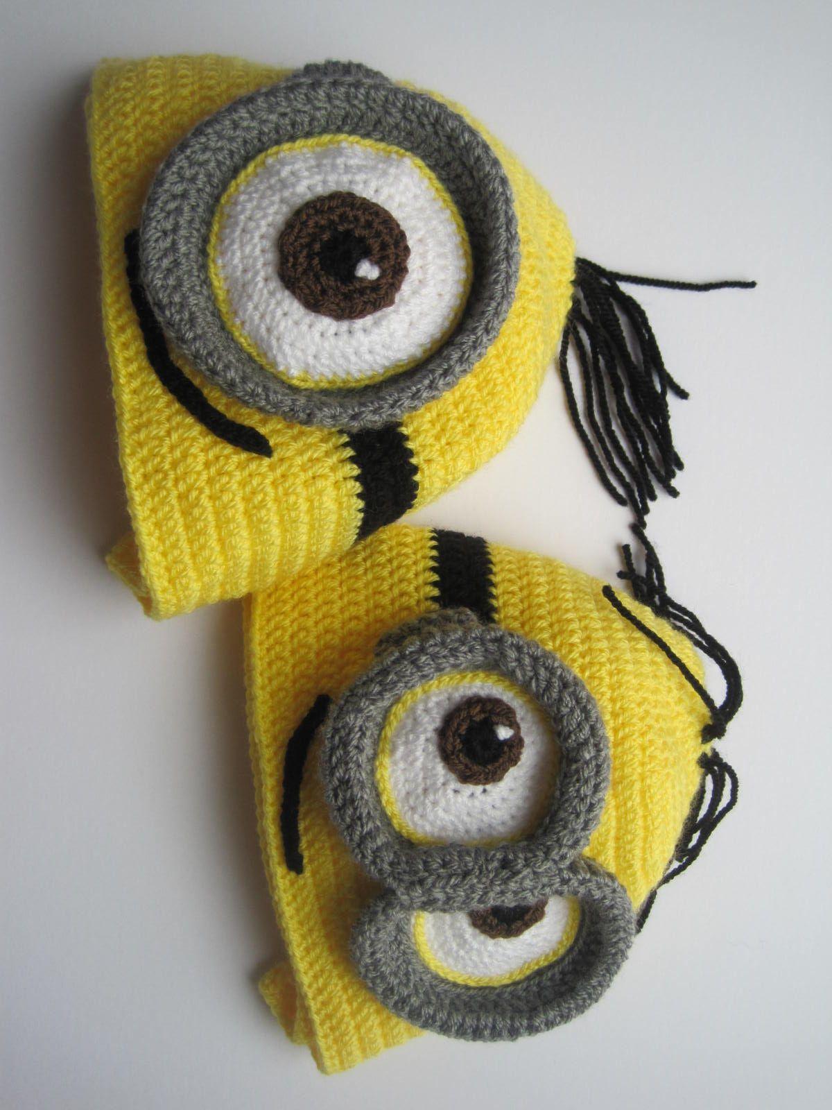 Minion inspired crochet hats little cousins crochet hats minion inspired crochet hats little cousins bankloansurffo Choice Image